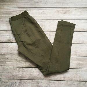 J. Crew Olive Green Pixie Pants